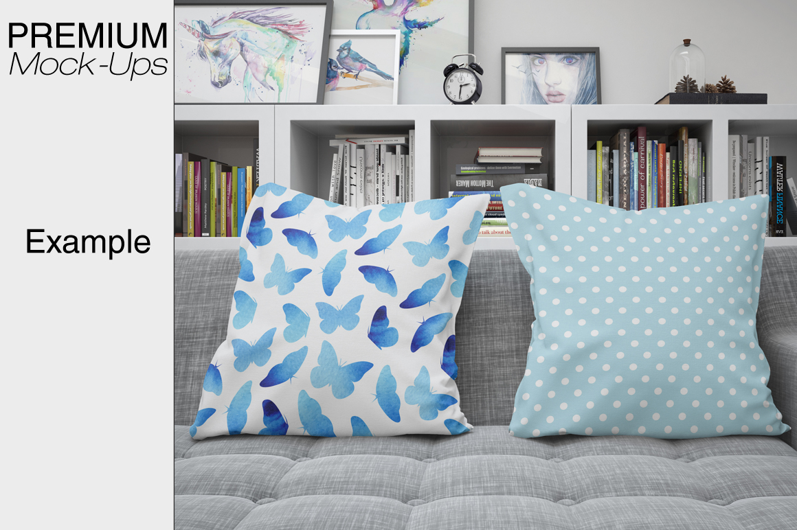 Pillows Mockup Set example image 4