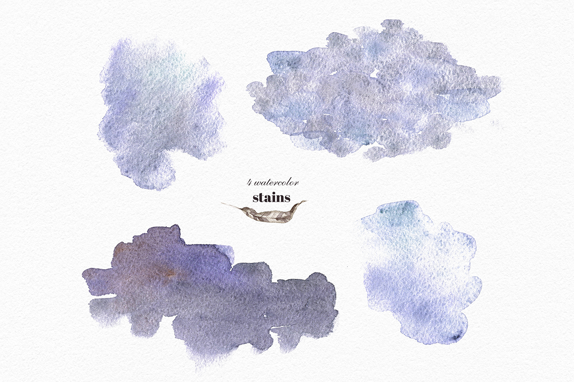 Mystical Wilds. Watercolor set. example image 10