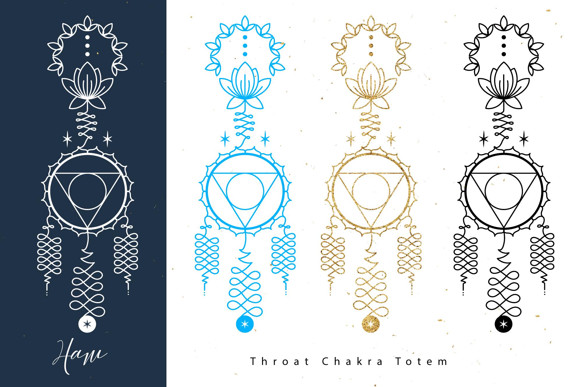 Chakras Totems example image 6