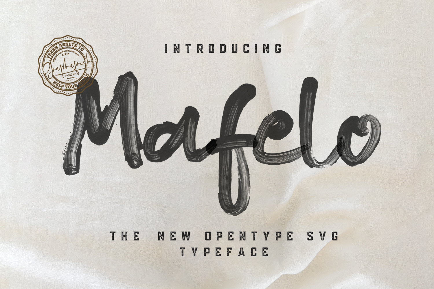 Mafelo SVG Font example image 1