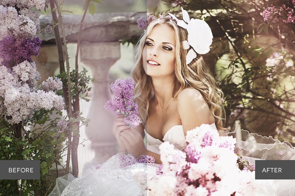 Weddingful Photoshop Actions example image 2