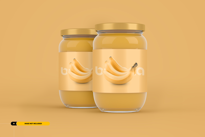 Jam Jar Packaging Mockup example image 3