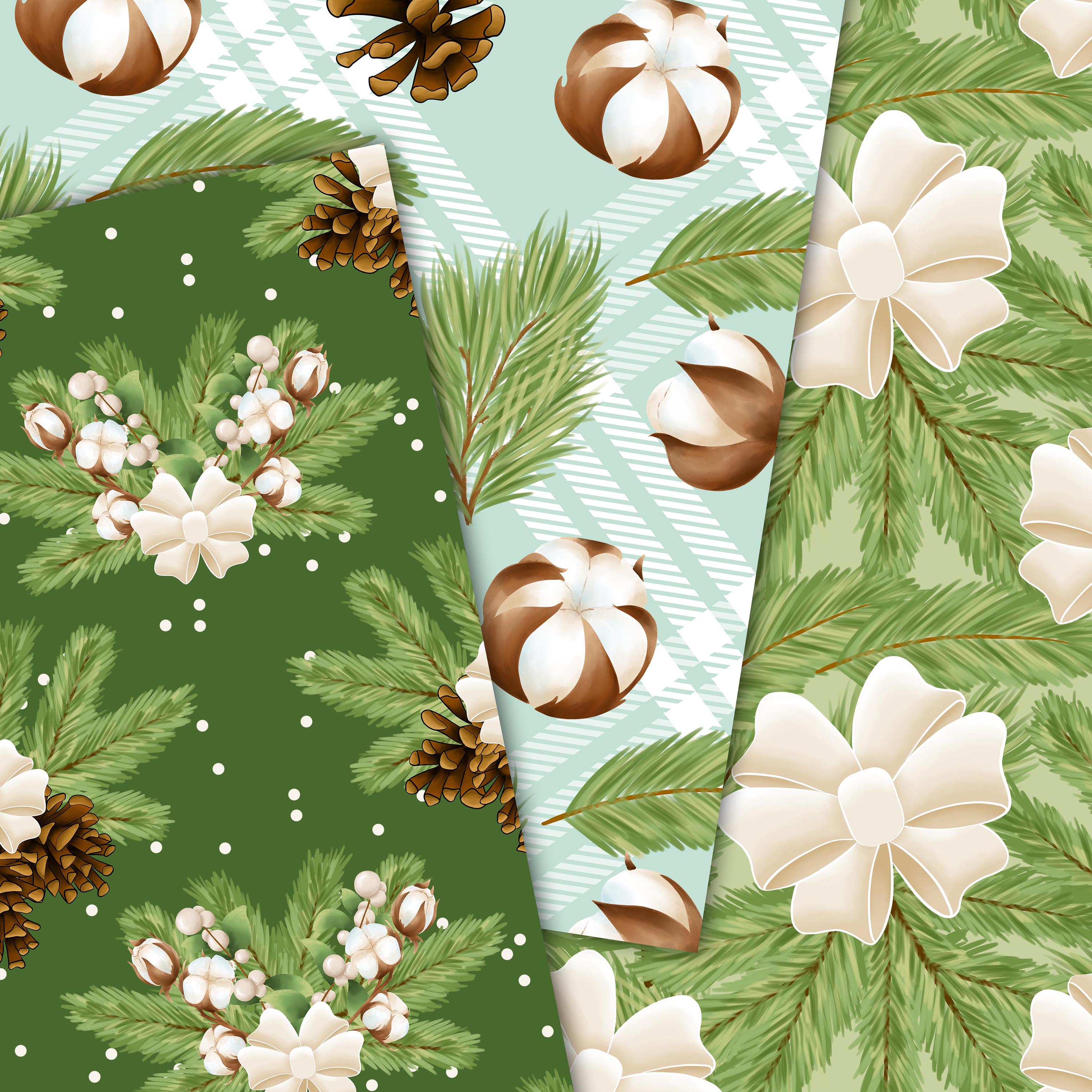 Cotton winter patterns example image 2