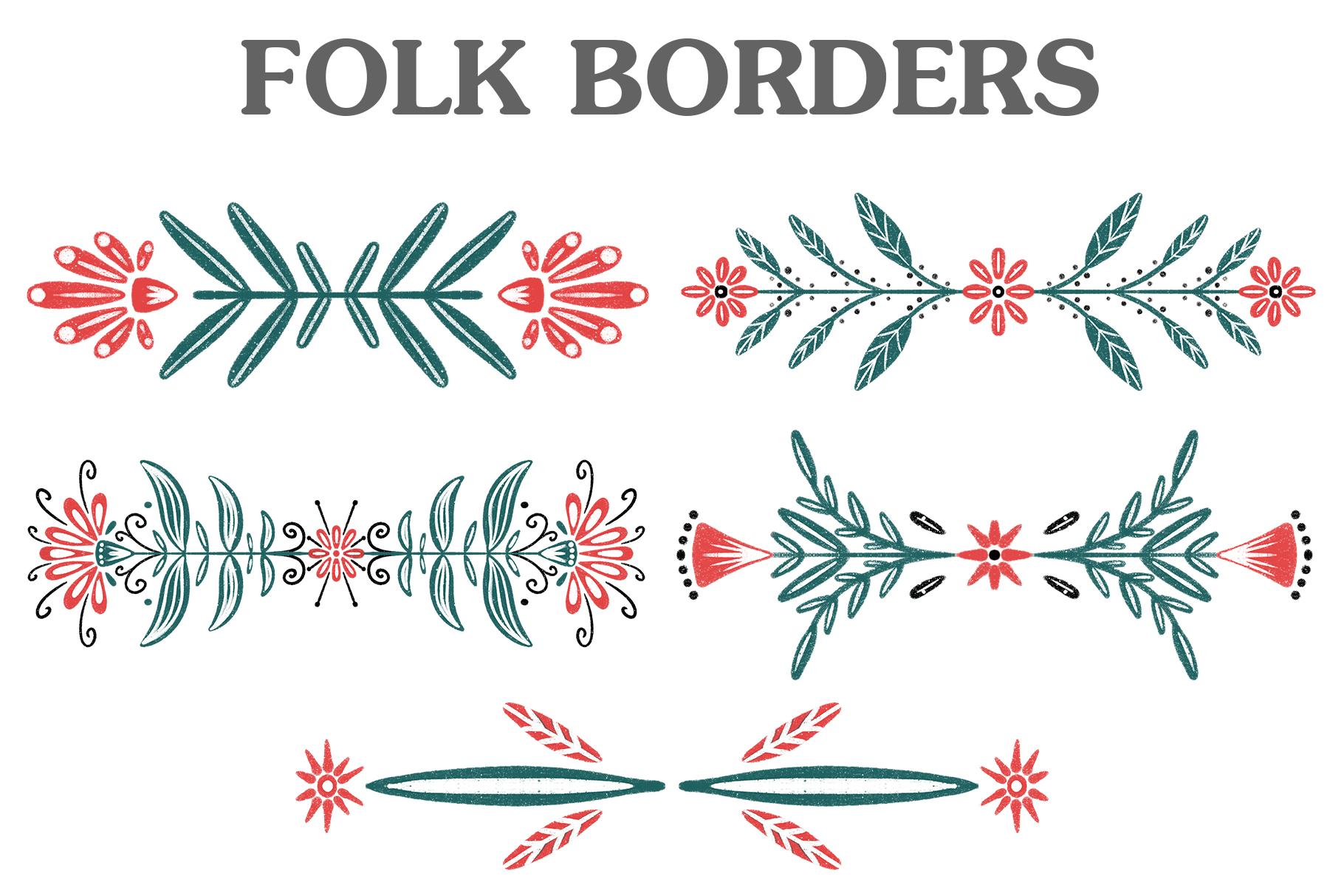 Folk Motive example image 6
