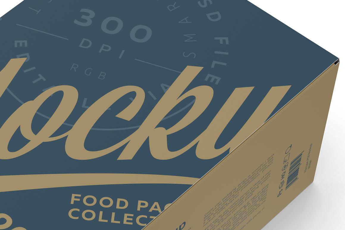 20 Snack Bars Box Mockup example image 4