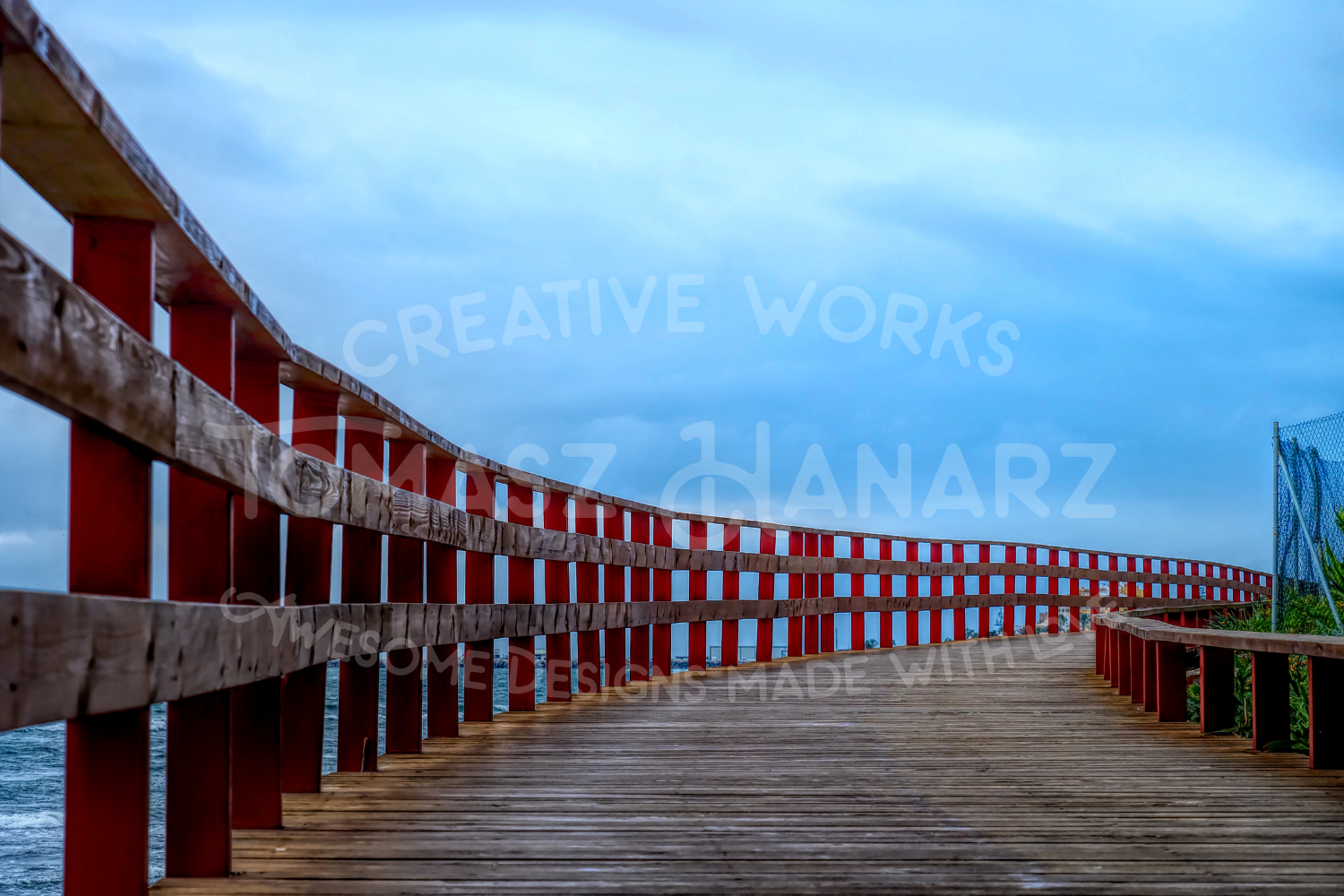 Wooden Seafront example image 1