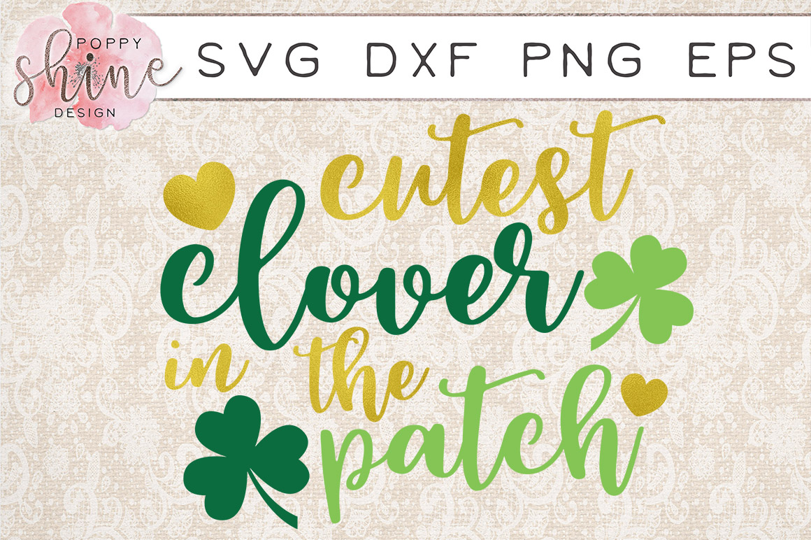 St. Patrick's Day Bundle of 4 SVG PNG EPS DXF Cutting Files example image 4