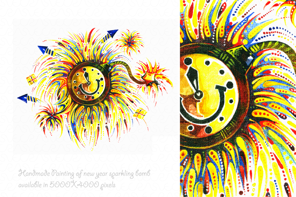 Christmas & New Year Bundle of Ornamental Mockups & Graphics example image 10