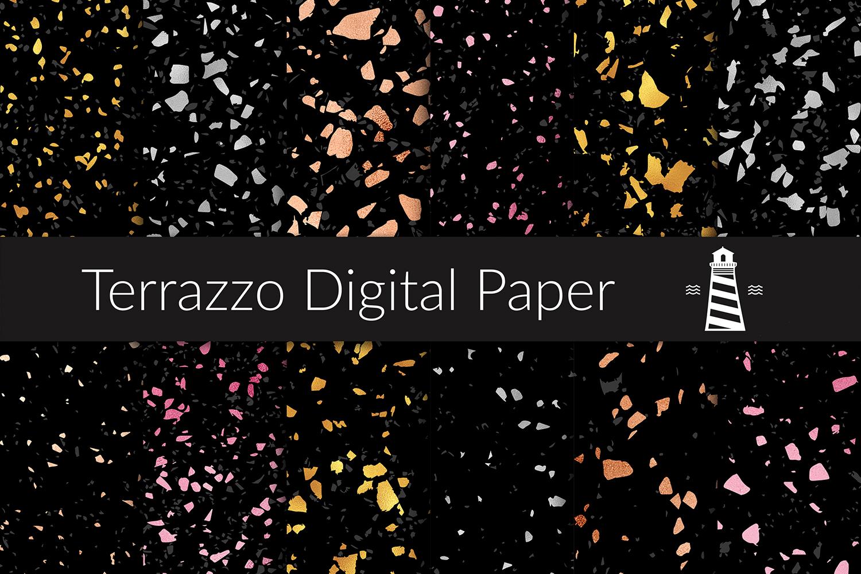 Shiny Terrazzo Patterns example image 1