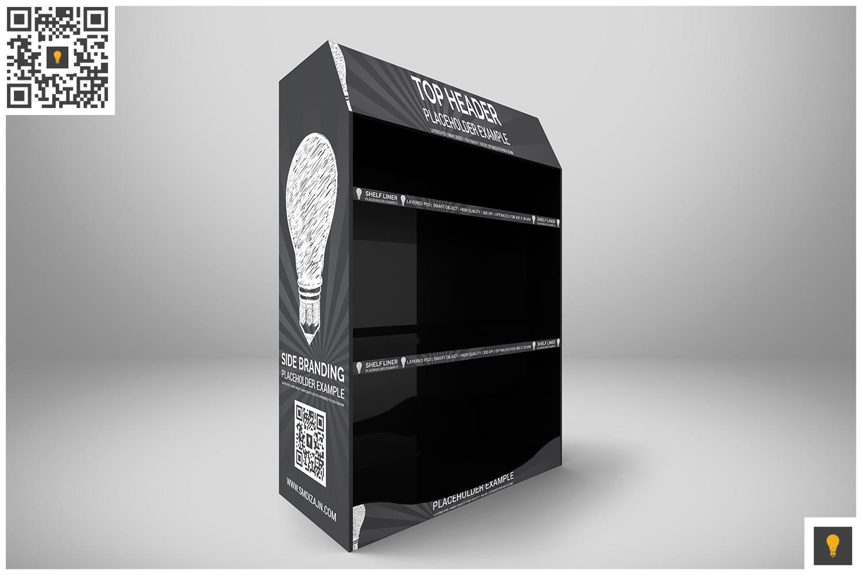 Promotional Shelf Display Mockup example image 2