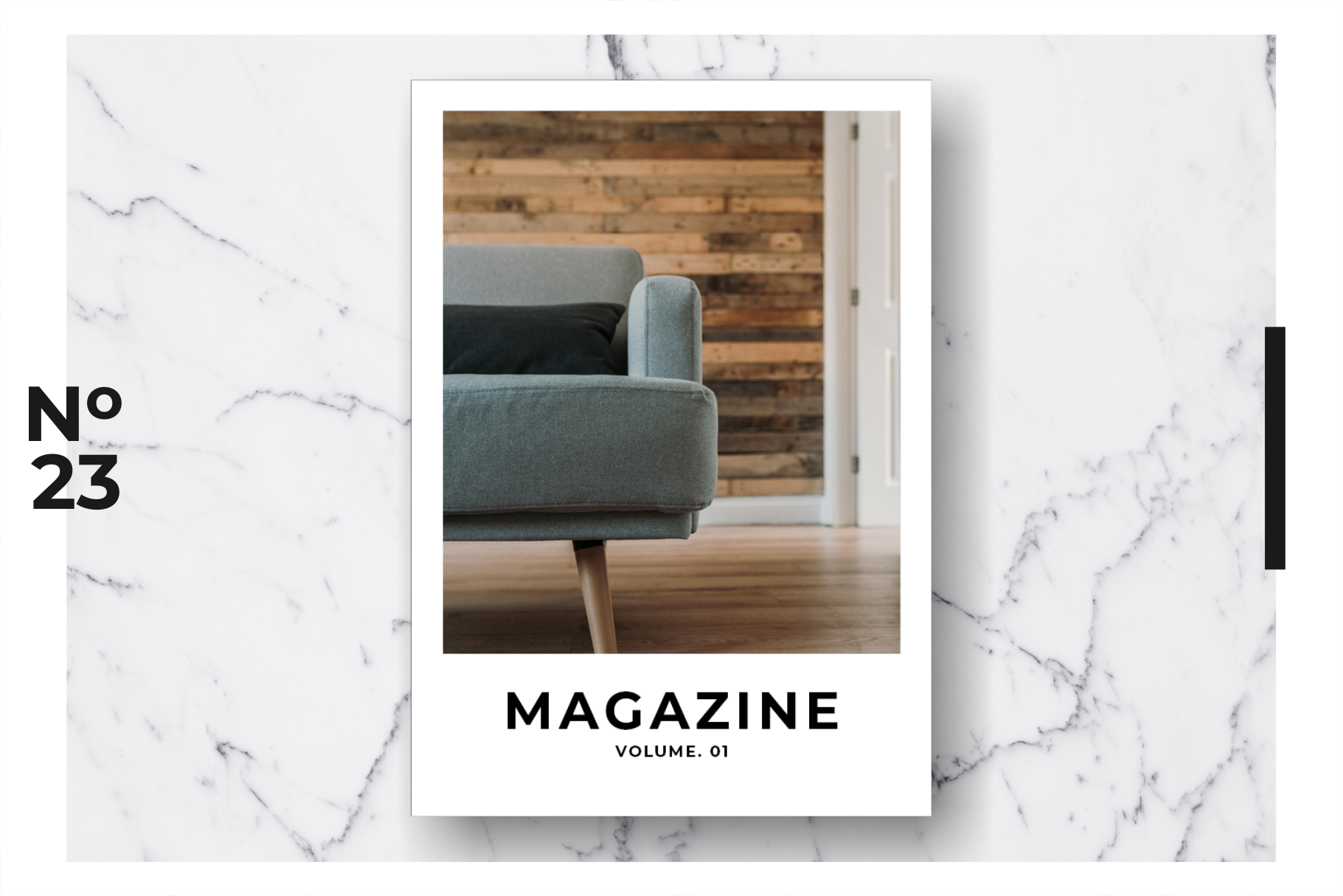 Magazine Template Vol. 08 example image 1