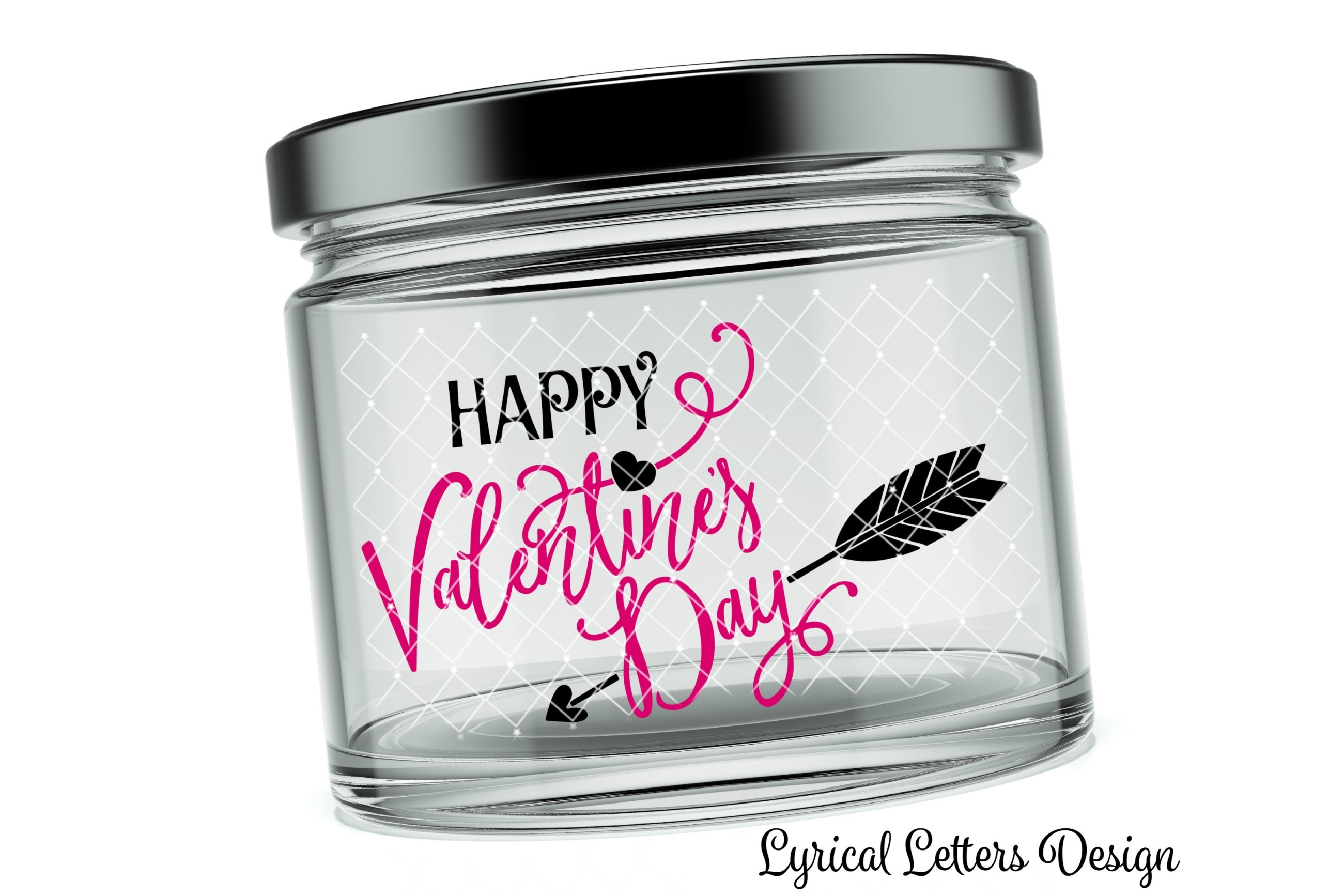 Happy Valentine's Day SVG DXF Cut File LL174C example image 2