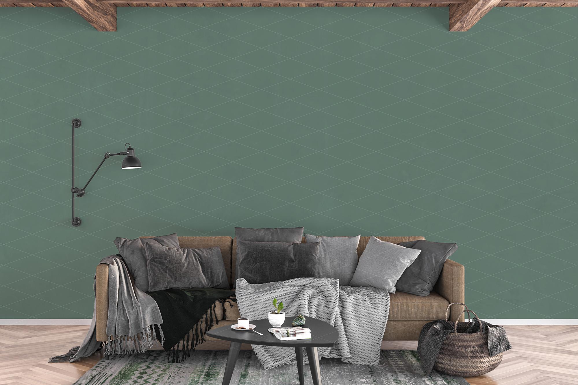 Wall mockup - wallpaper mock up example image 6