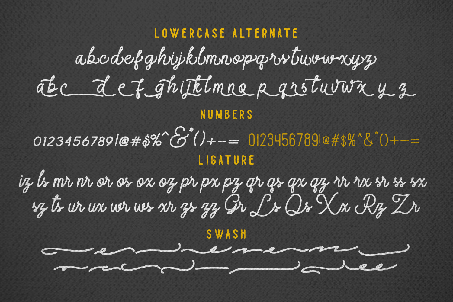 Majestic Romance - Font Duo example image 9