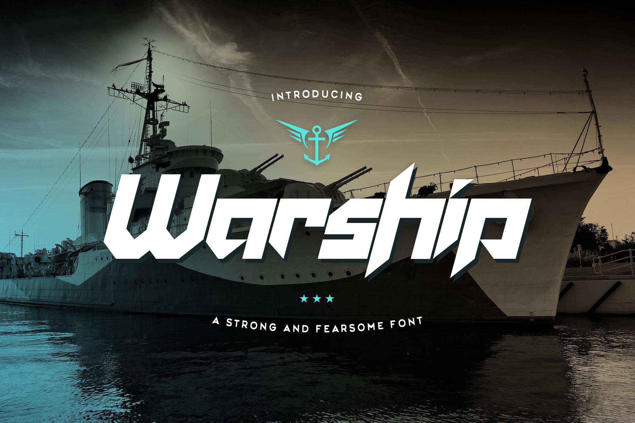 Warship example image 1