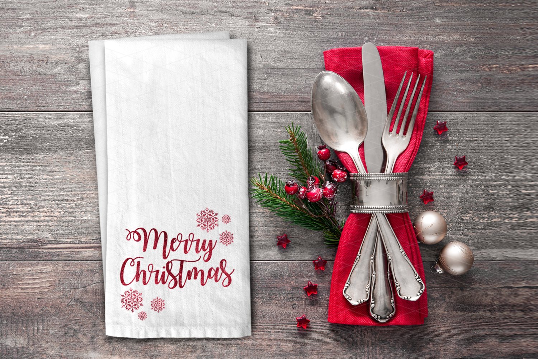 Big Christmas Mockup Bundle, Mug, Ornament, Pillows and More example image 2