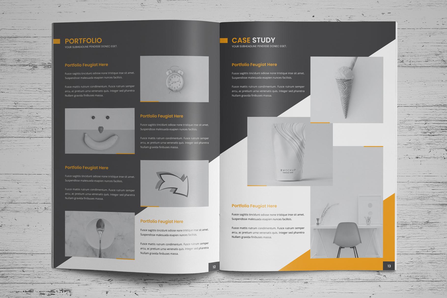 Company Profile Brochure v8 example image 9