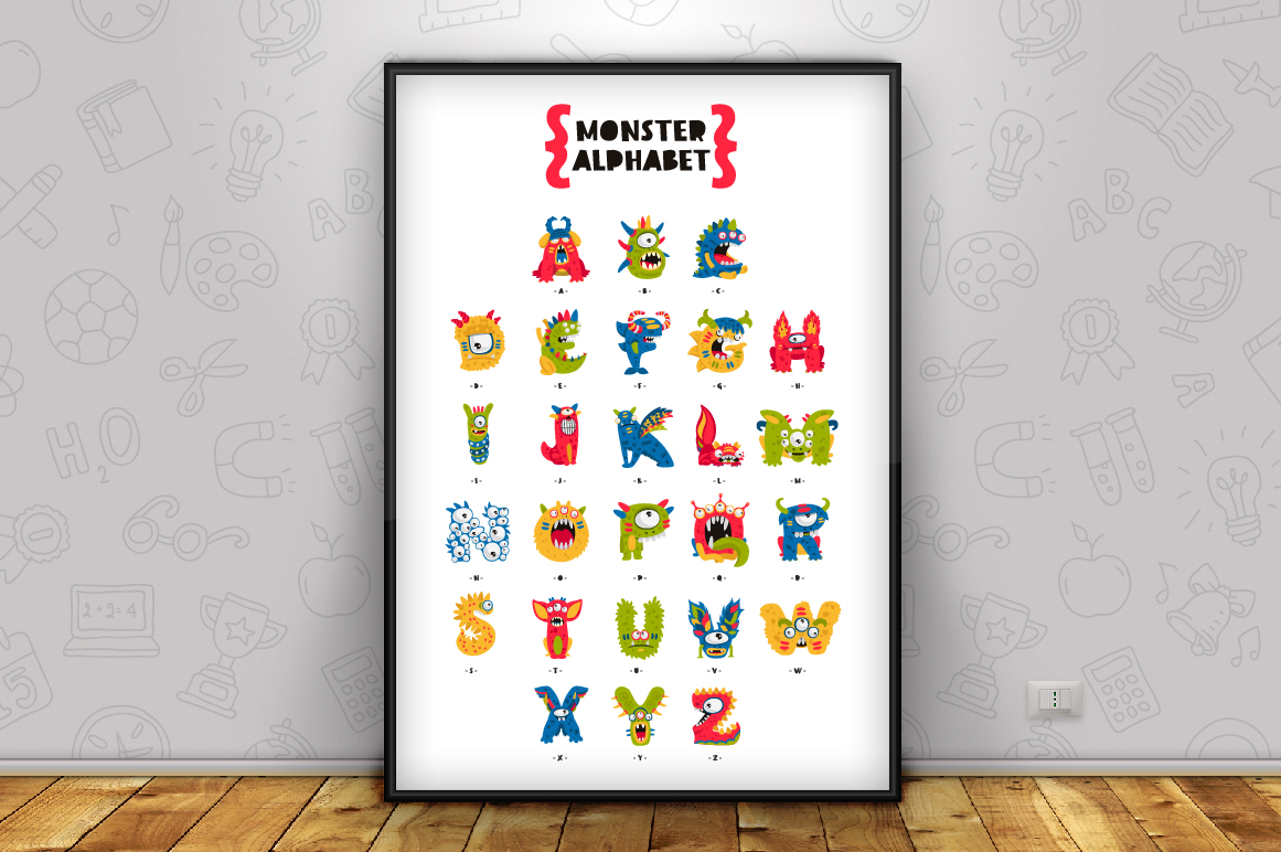 Monster Alphabet example image 2