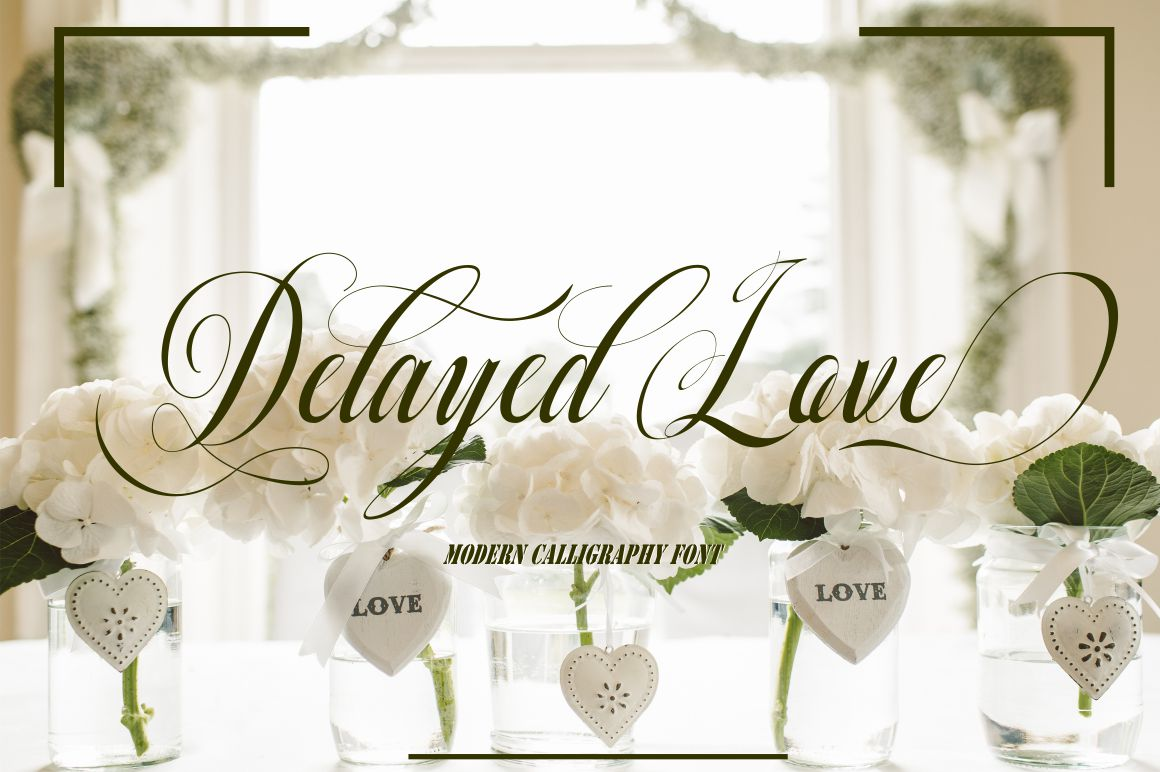 Delayed love example image 1