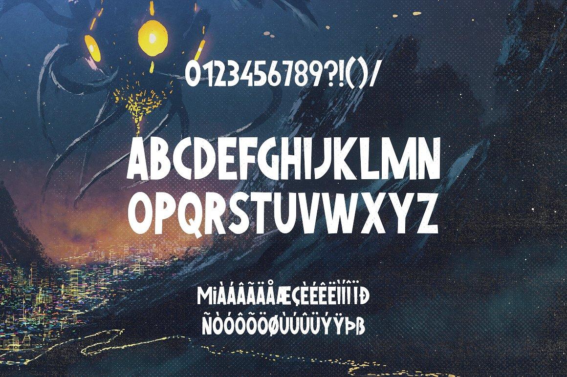 Nikopol Typeface example image 7