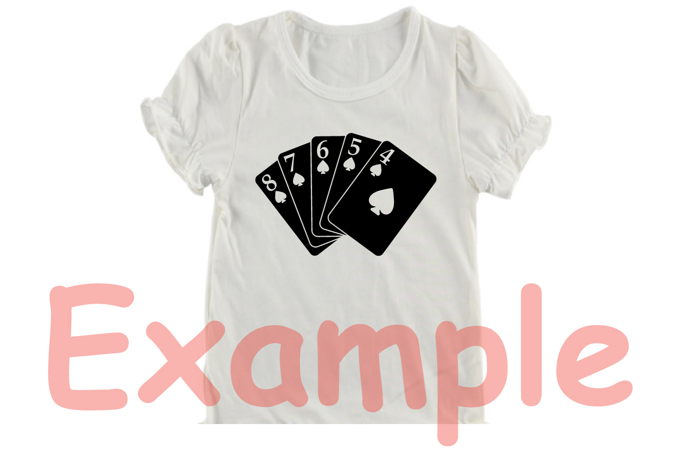 Poker Full House Straight Flush Four of a Kind Straight 742S example image 3