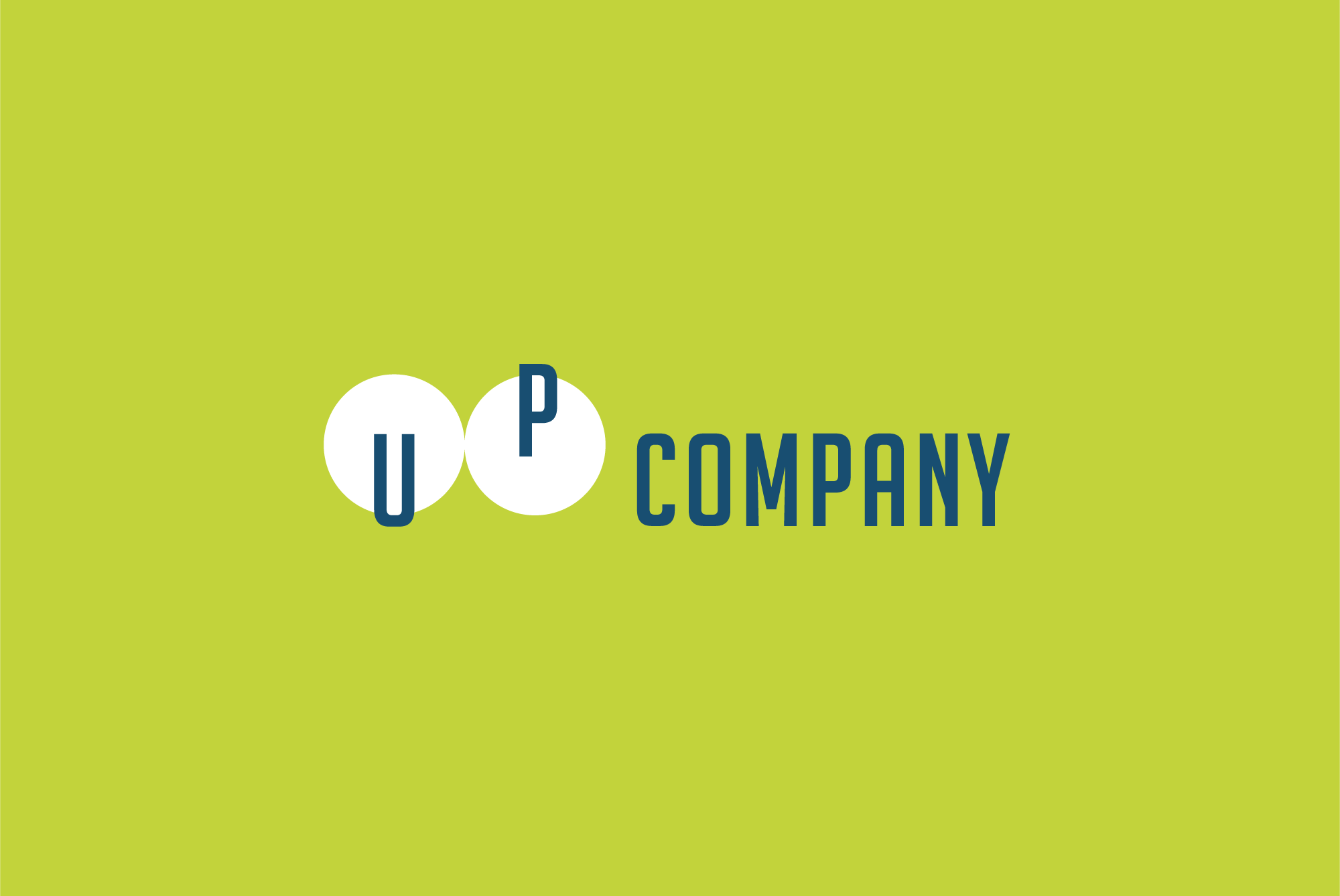 UP company logo example image 2