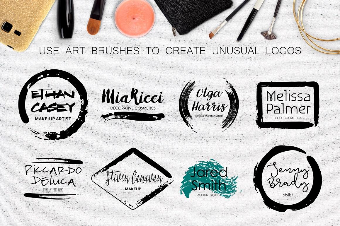 Mascara - Vector Art Brushes example image 6