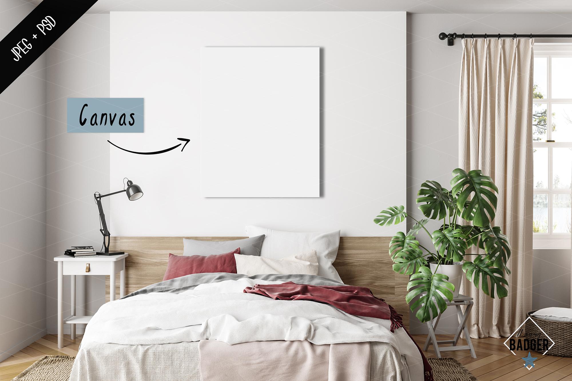 Interior mockup BUNDLE - frame & wall mockup creator example image 4