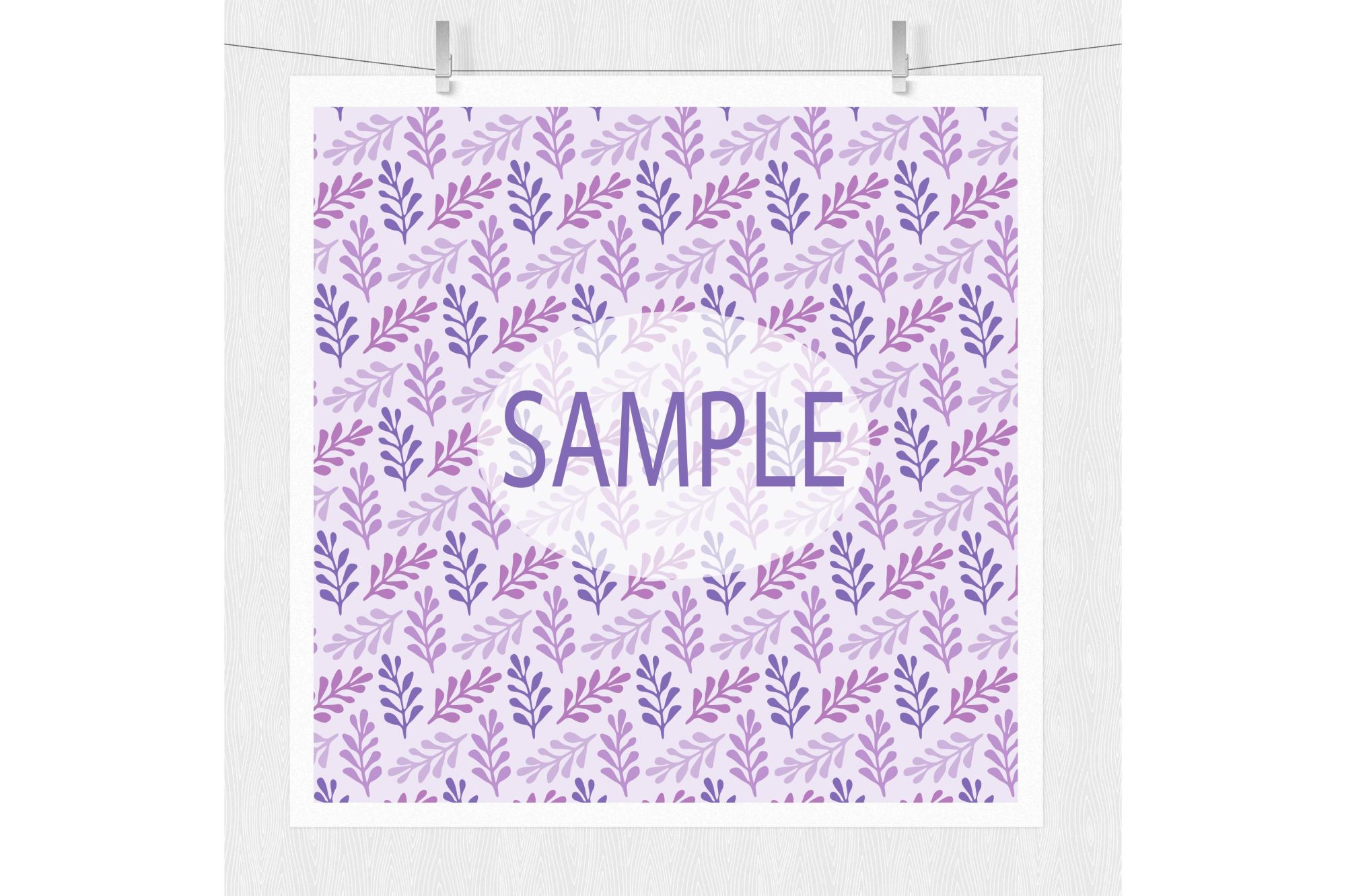 Purple Digital Paper example image 2