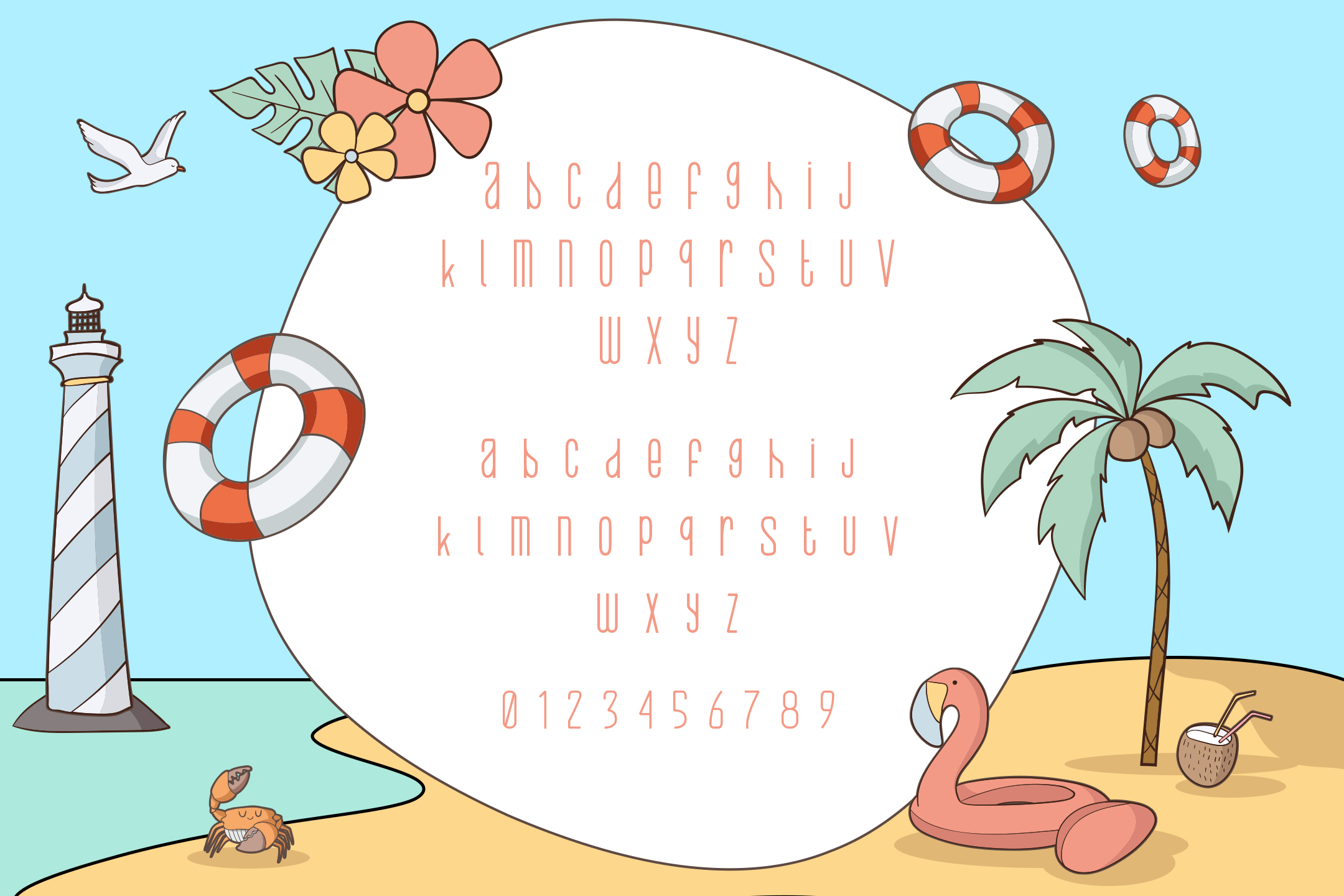 Beach Buoy + Bonus Illustrations example image 2