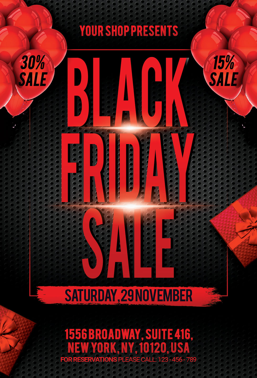 Black Friday Sale Flyers example image 3