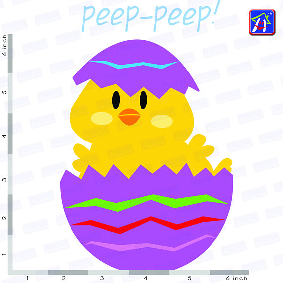 Easter chicks clip art - Easter clipart - Easter images example image 5