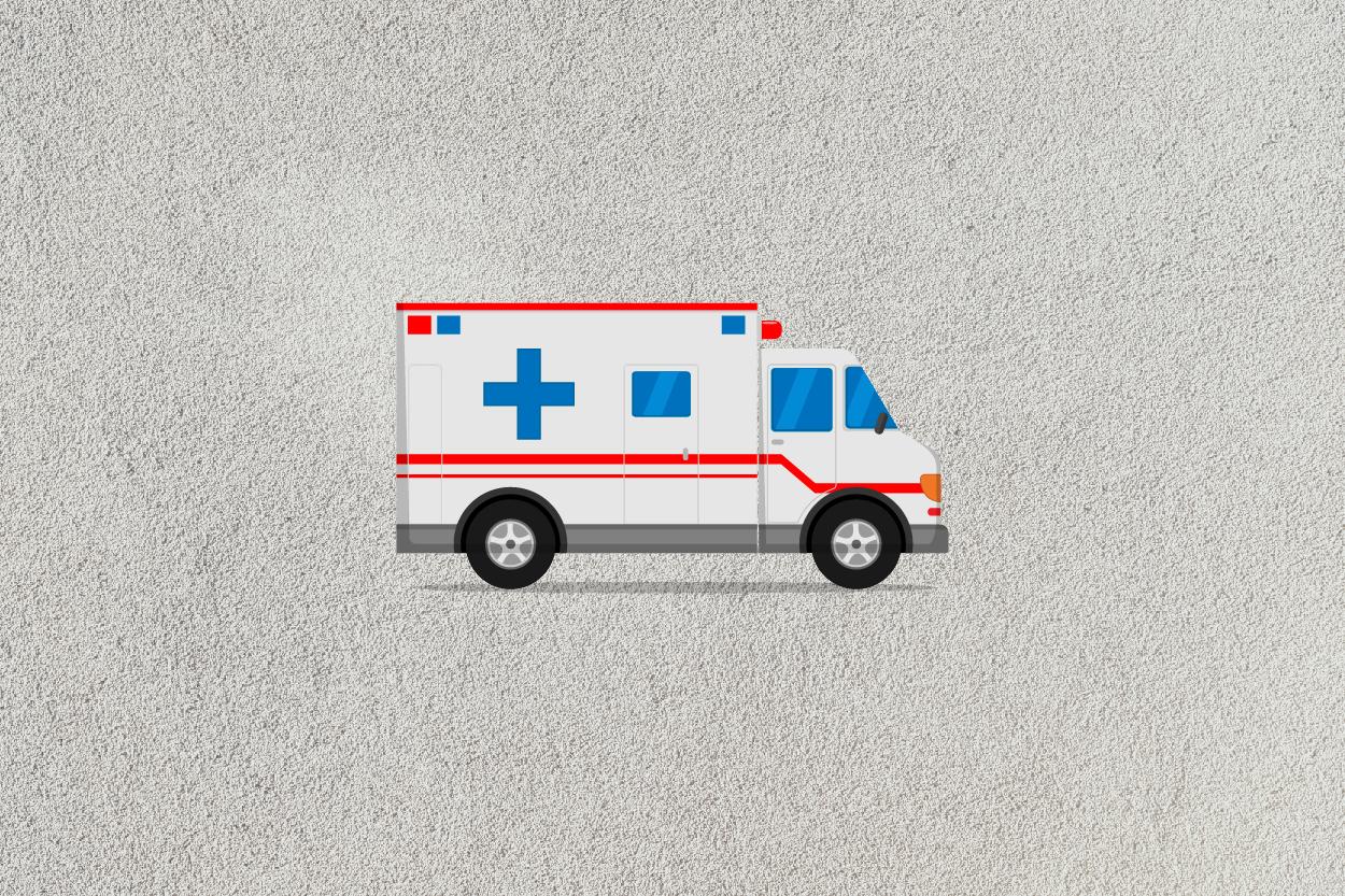 ambulance car icon example image 2