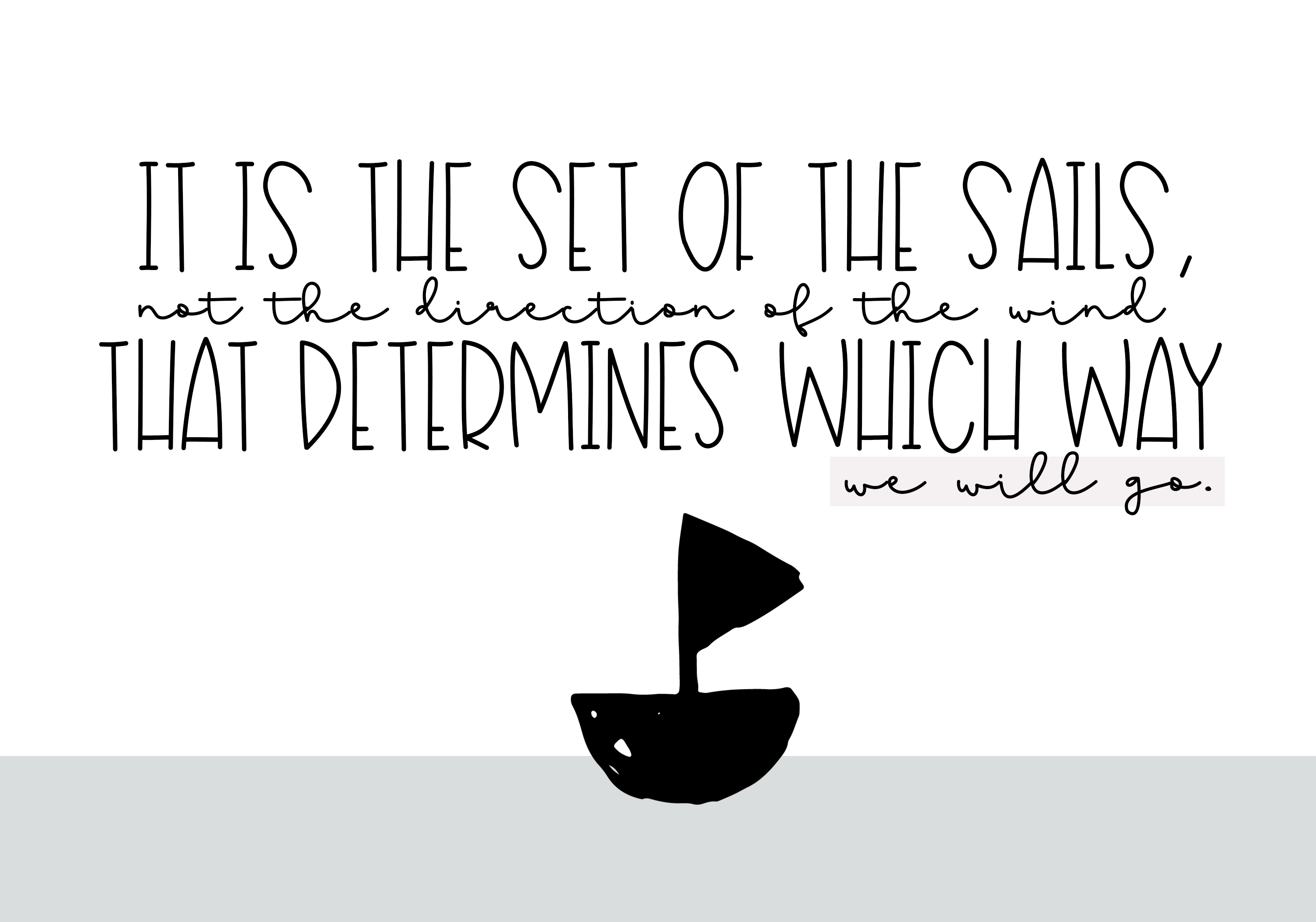 Sailboat - A Fun Handwritten Font example image 2