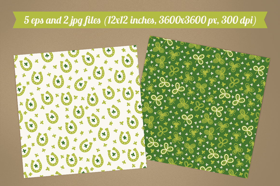 Greeting cards for St. Patrick's Day example image 2