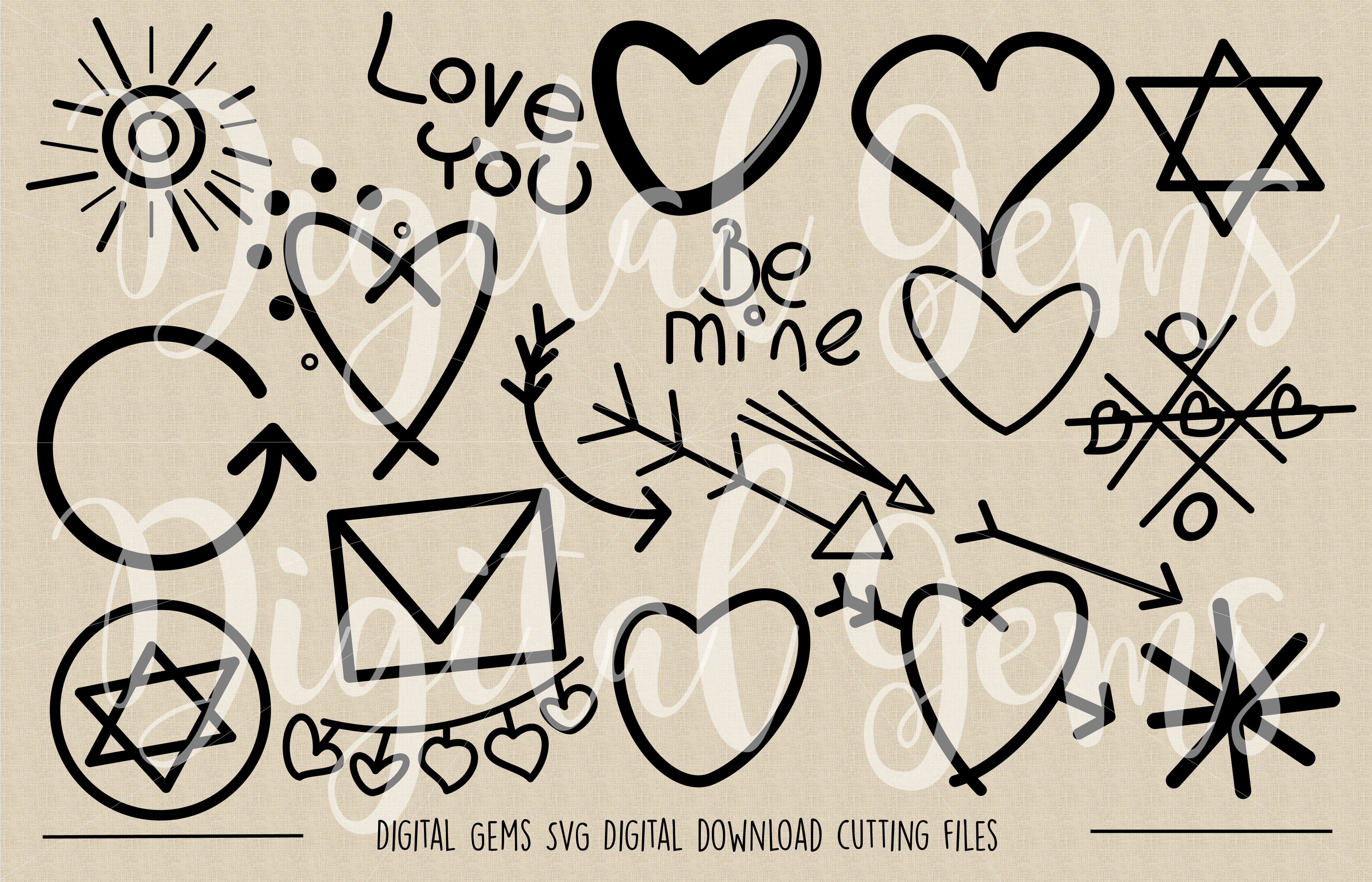 Doodle SVG / PNG Files example image 2
