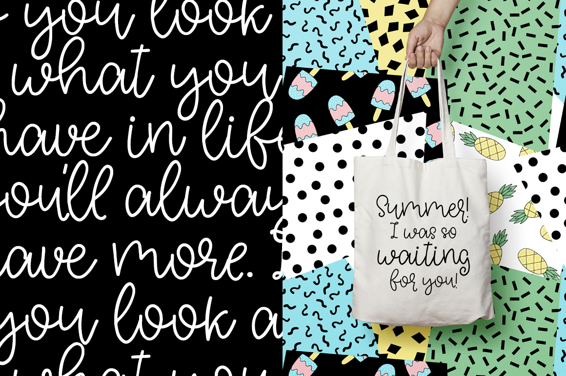 Artless Typeface - Summer Font example image 2