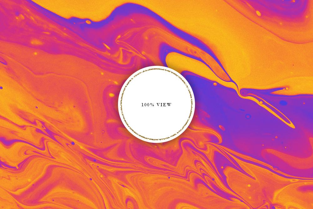 Bright Ink Textures - Liquid Paint Digital Paper example image 3