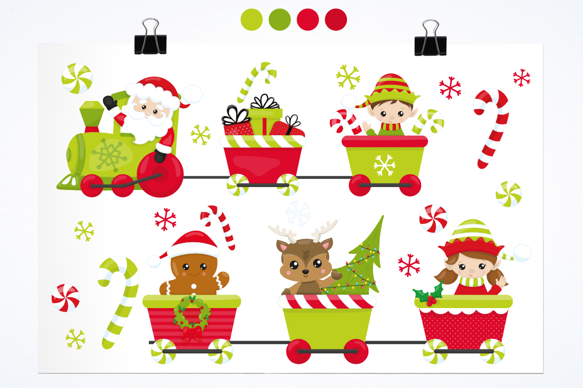 Santa's Helper graphic and illustrations example image 5