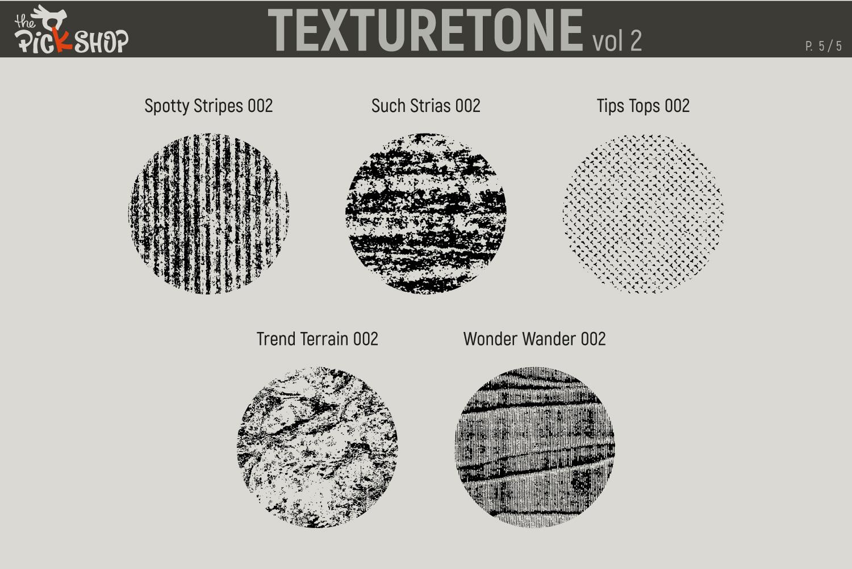 Texturetone Promo Pack. Vol 01 and Vol 02 example image 11