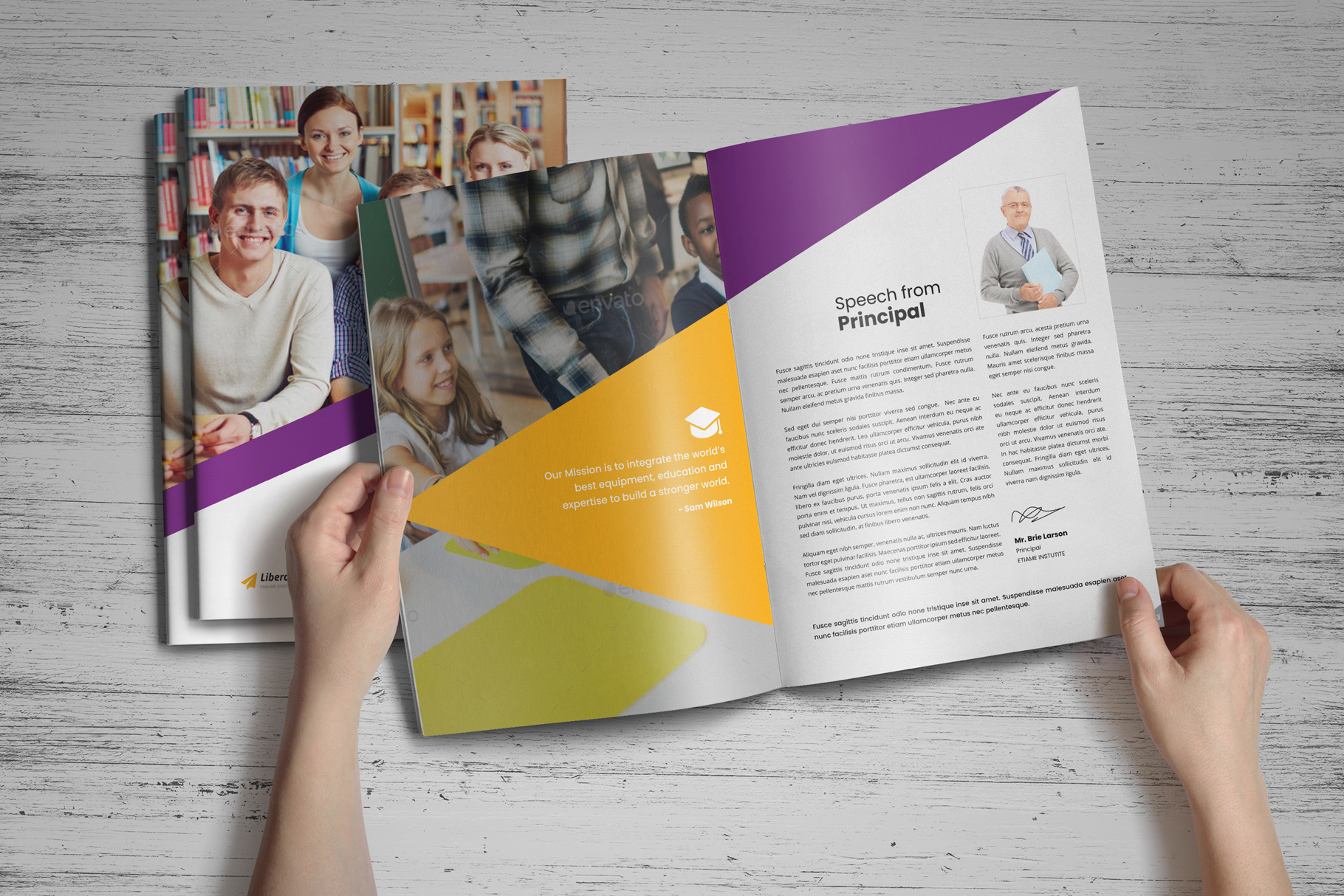 Education Prospectus Brochure v7 example image 2