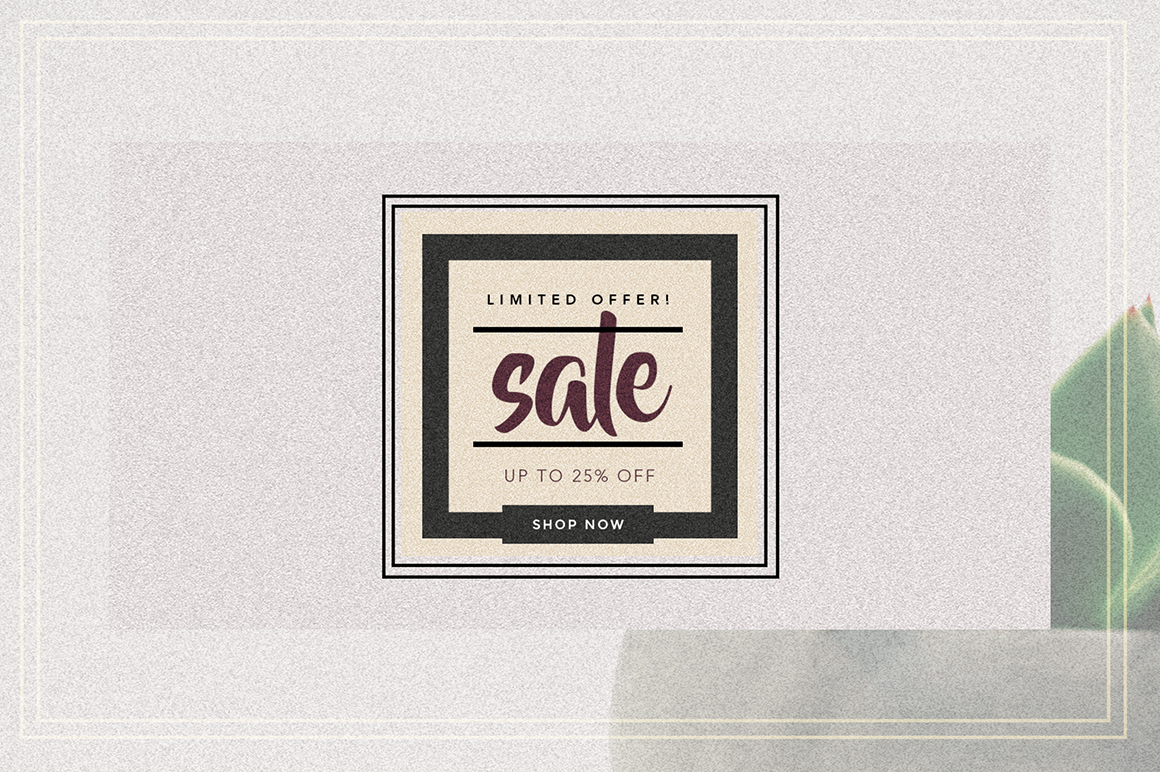 GRUNGE Facebook sale and quote pack example image 8