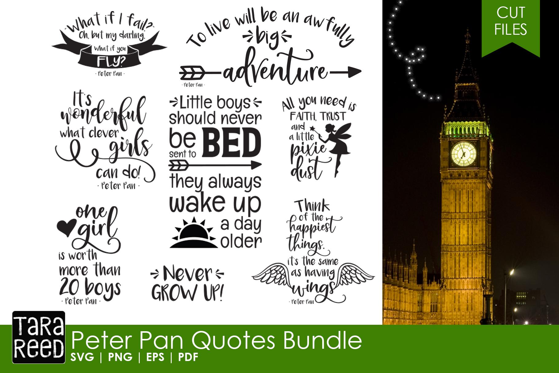 Peter Pan Quotes Bundle