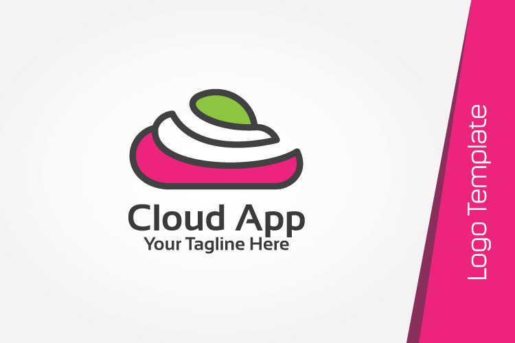 Color Cloud Logo Template example image 3