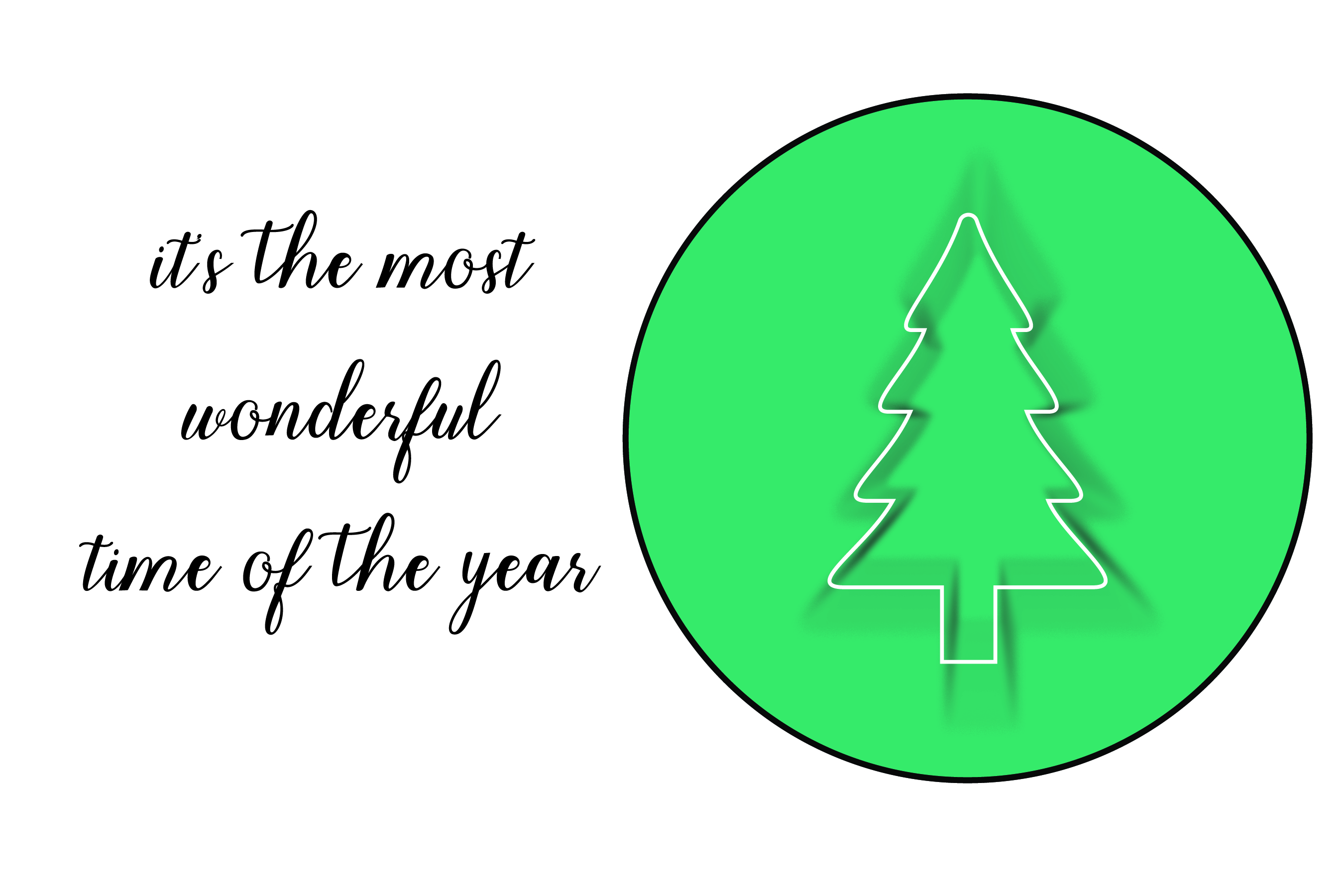 Wonderful time of the year - SVG Bundle 16 Designs example image 6