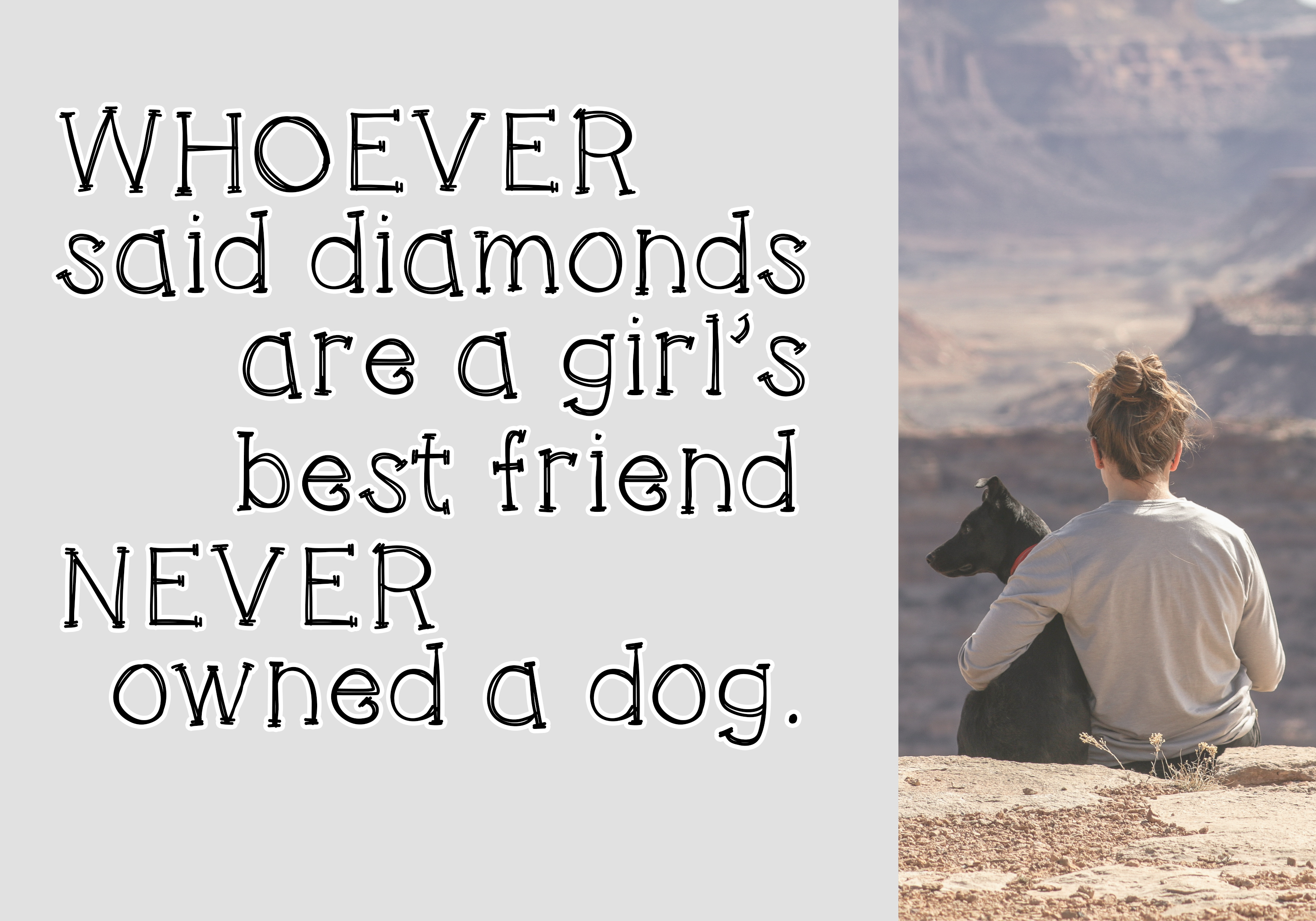 Cats and Dogs - A Cute Handwritten Font example image 6
