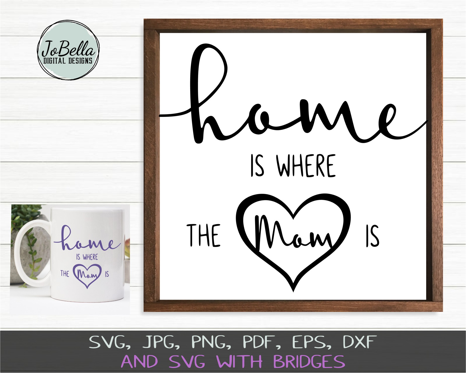 Home Wood Sign SVG Bundle - Farmhouse SVG Bundle example image 10