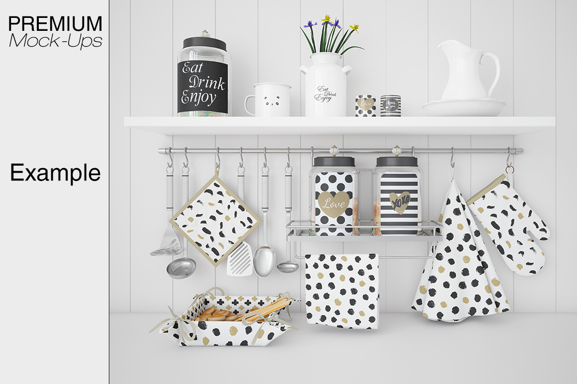 Kitchen Accessories Set example image 9