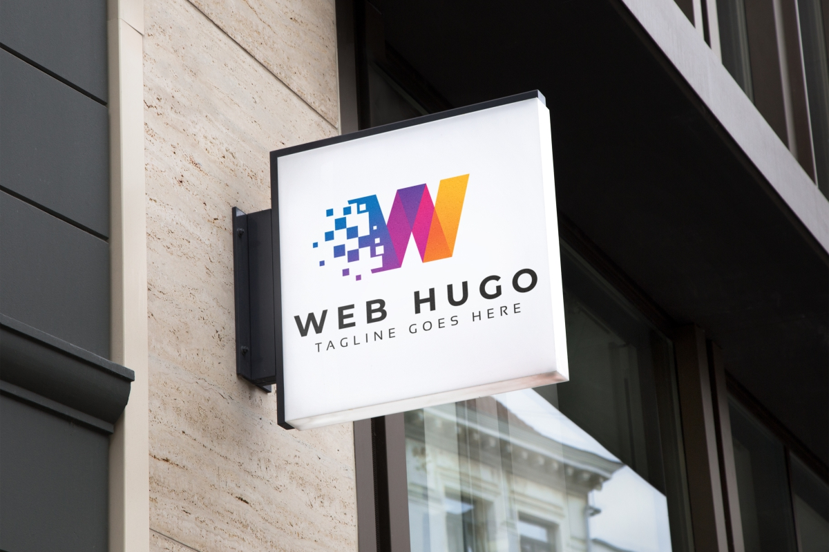 Web Hugo W Letter Logo example image 4