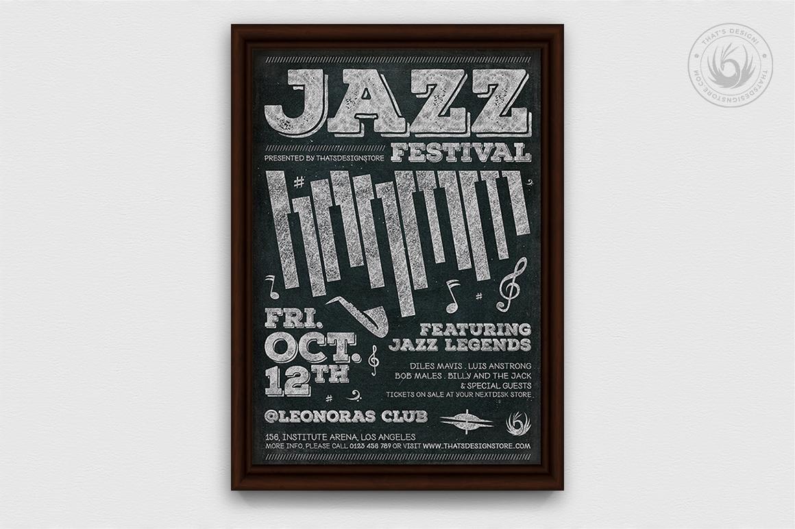 10 Jazz Festival Flyer Bundle example image 8